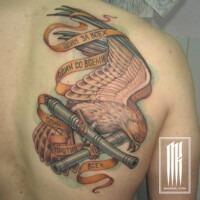 татуировка орел.армейская татуировка