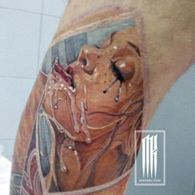 эротическая татуировка