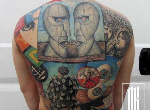 татуировки пинк флойд