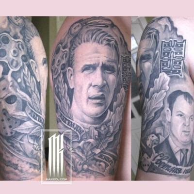 татуировки футбольных фанатов