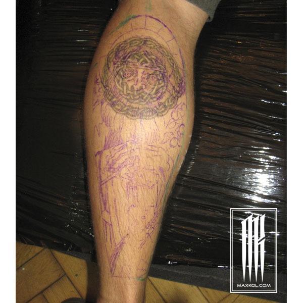 славнская татуировка