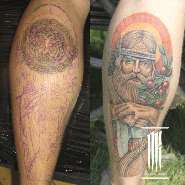 славянская тату