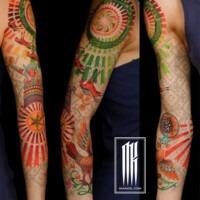 славянские татуировки от студии Макскол