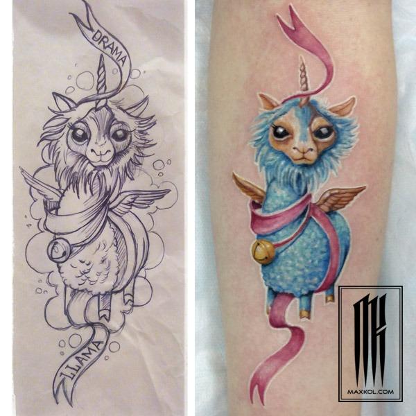 женские тату по индивидуальному эскизу