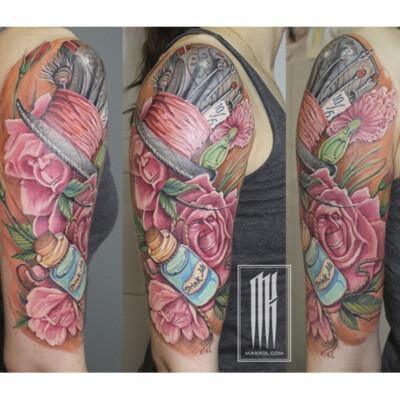 татуировка для девушки