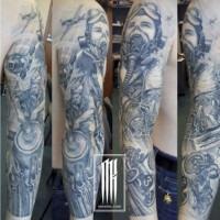 татуировка летчик