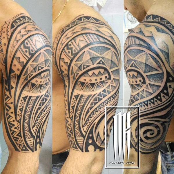 татуировка полинезия