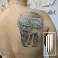 татуировка макс колесников