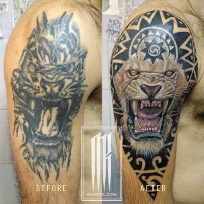 перекрыть татуировку