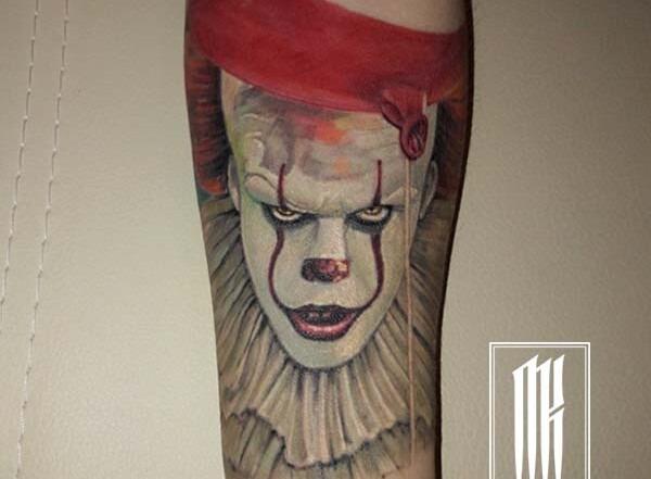 татуировки от мастера Максима Колесникова.