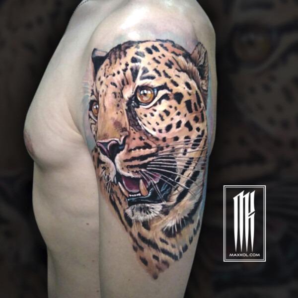 татуировка от Максима Колесникова