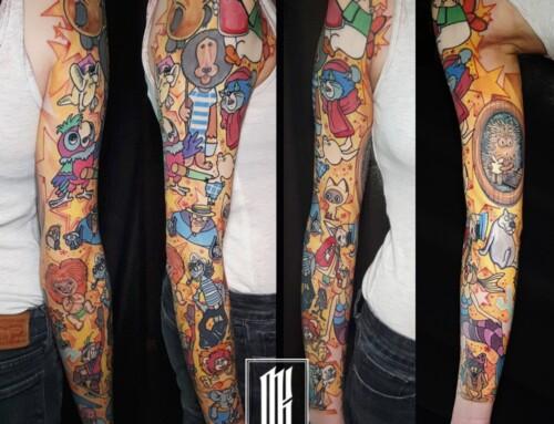 Татуировка мультфильмы