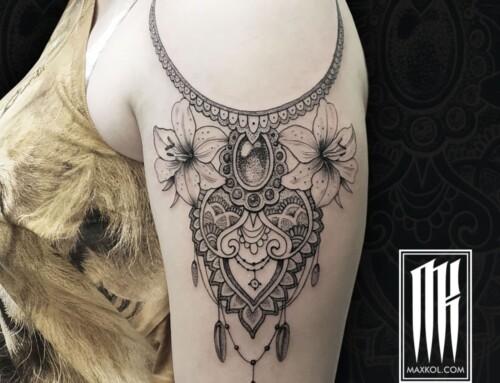 Татуировка кружево