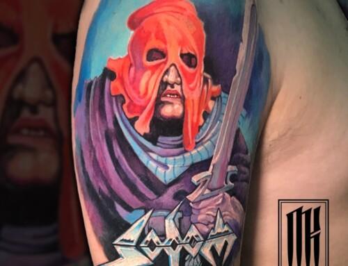 Цветная татуировка