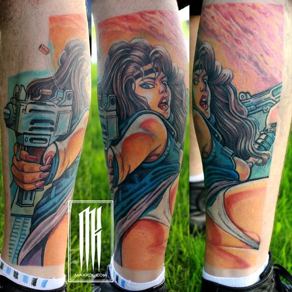 Перекрытие неудачной татуировки