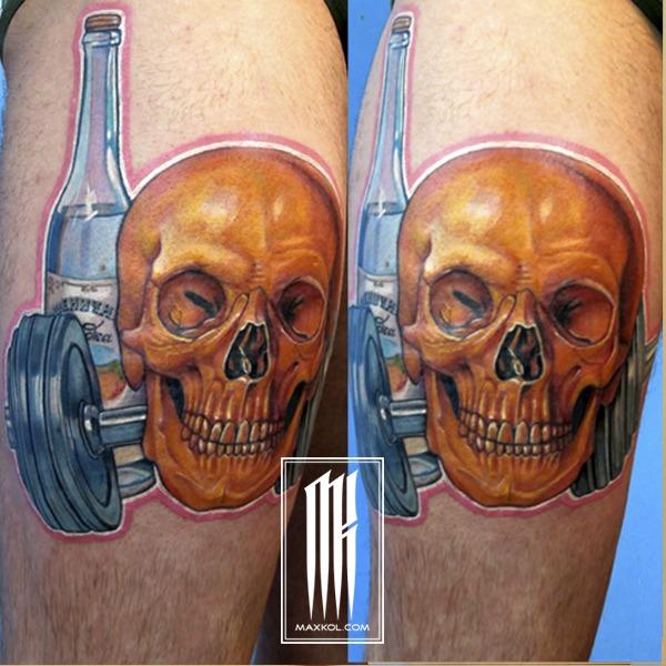 Мужская татуировка