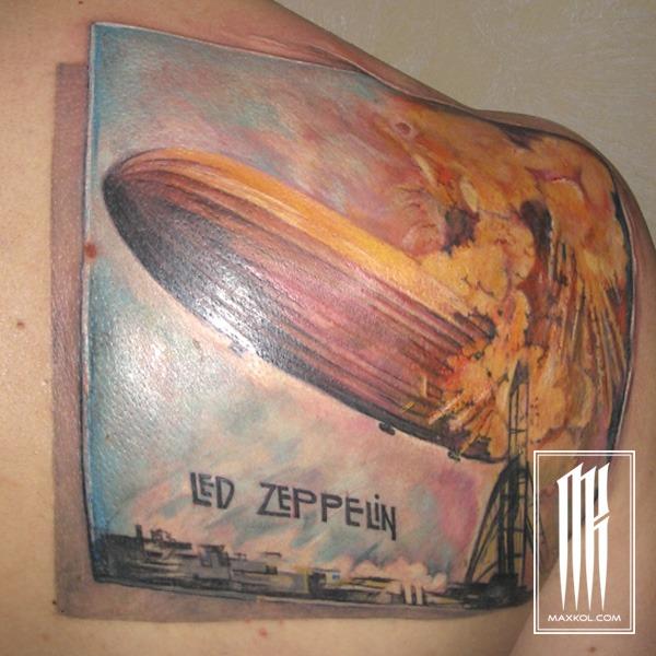 Тату Led Zeppelin