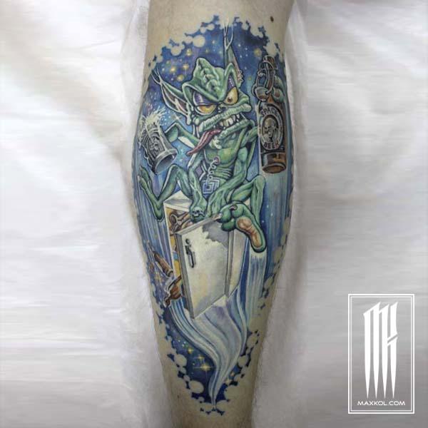 Набить татуировку