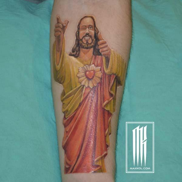 Тату Иисус
